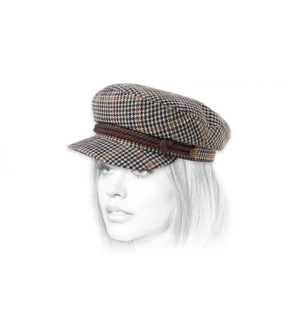 Brixton brown fisherman cap