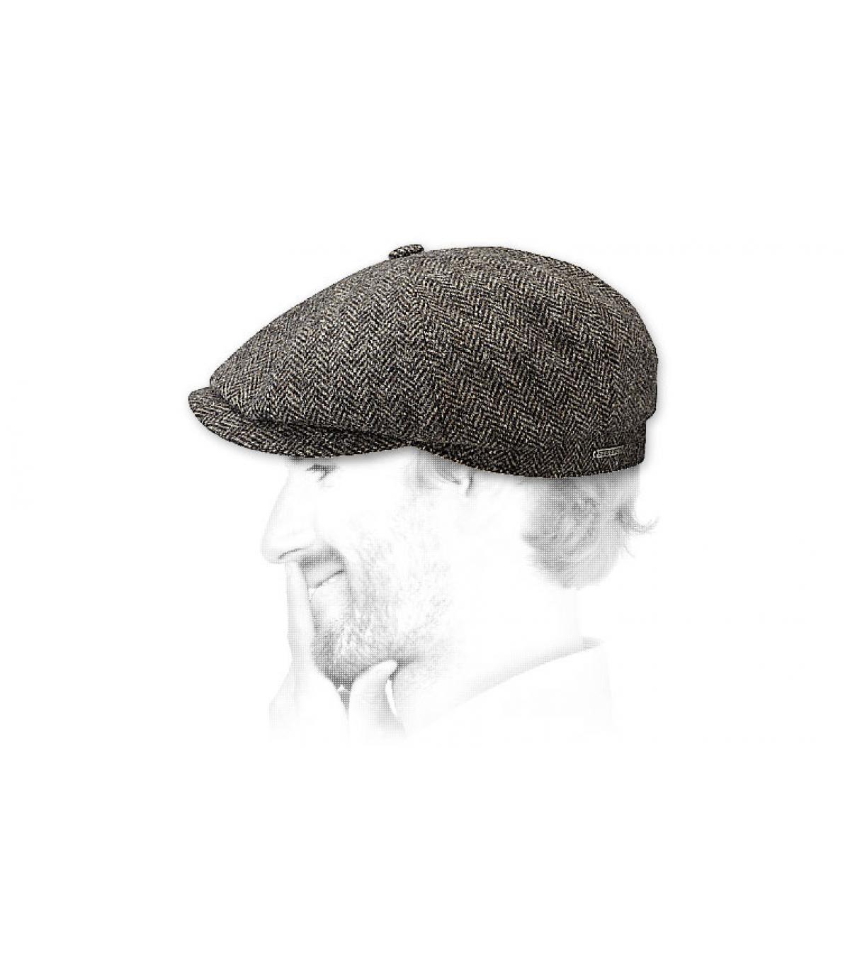 Woolrich hatteras stetson - Hatteras woolrich dark grey by Stetson. 20ad66b5717