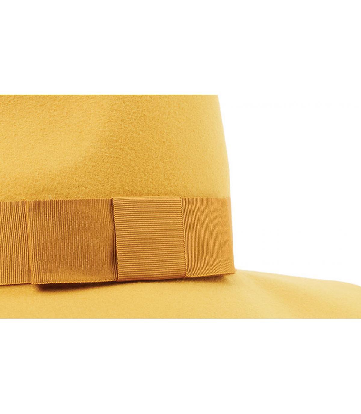 d8785b9d Brixton. yellow felt floppy hat. Détails Piper nugget gold - image 3 ...