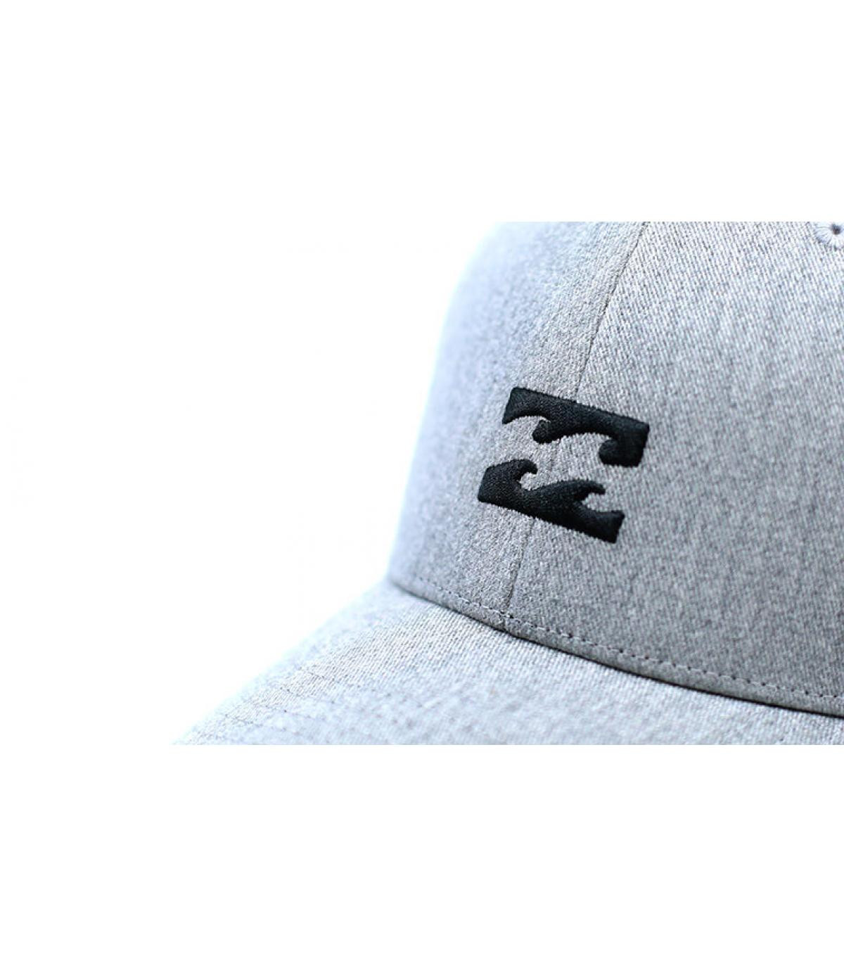 7a2d037d4 All Night Snapback heather grey