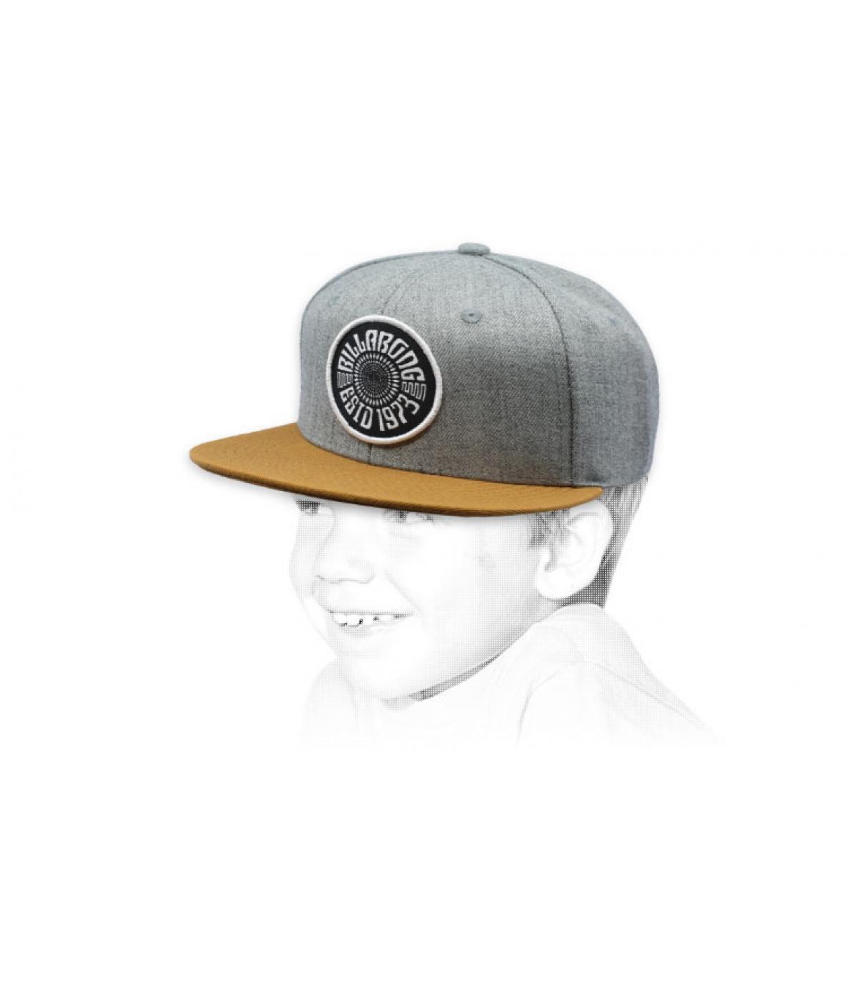 grey child cap Billabong