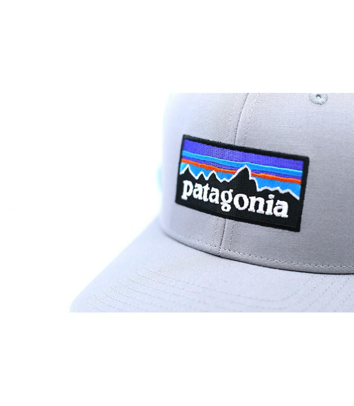 grey blue Patagonia trucker - P6 Logo Trucker drifter grey dam blue ... f51659746a5a