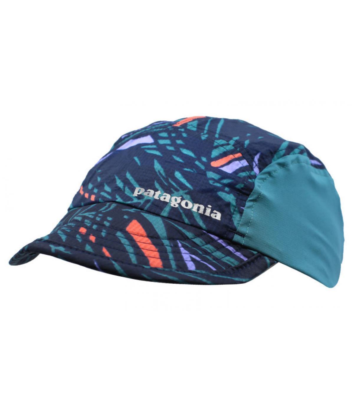 Patagonia cap pattern - Airdini Cap Rain Fern navy by Patagonia. Headict 463f91b13fc