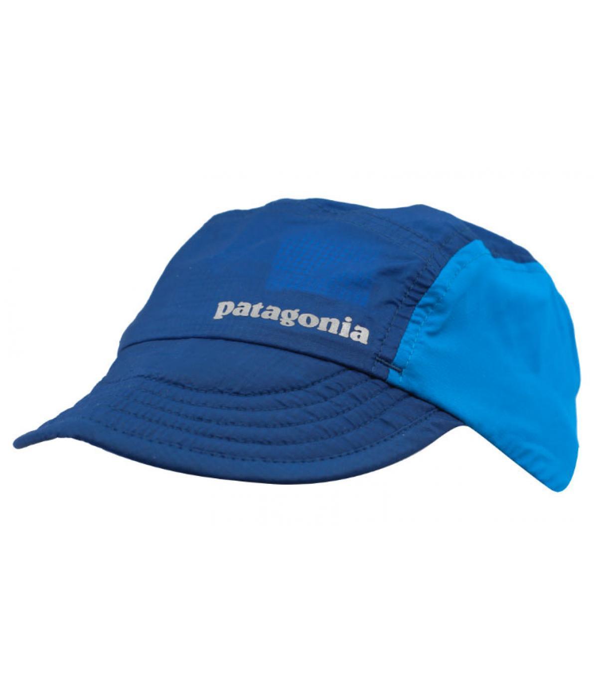 blue Patagonia cap - Airdini Cap big sur blue by Patagonia. Headict 2d3a6b1004a
