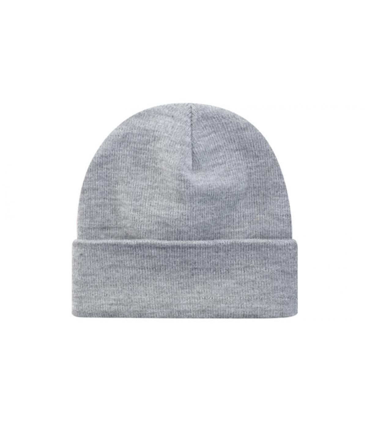 Beanie blank grey