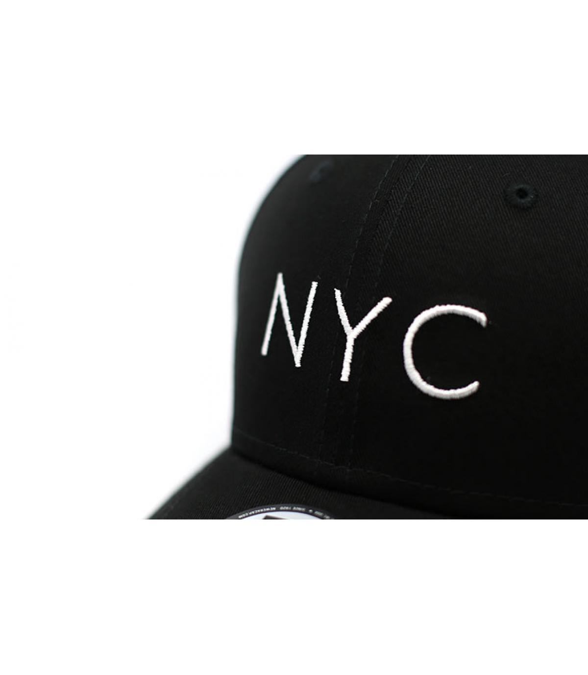 Détails NYC NE Ess 9Forty black - image 3
