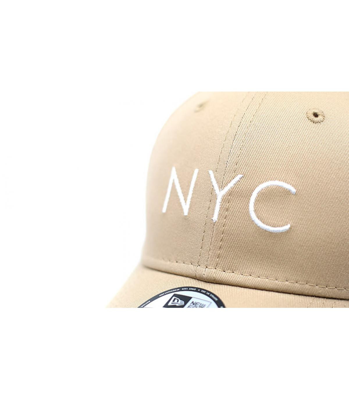 Détails NYC NE Ess 9Forty camel - image 3