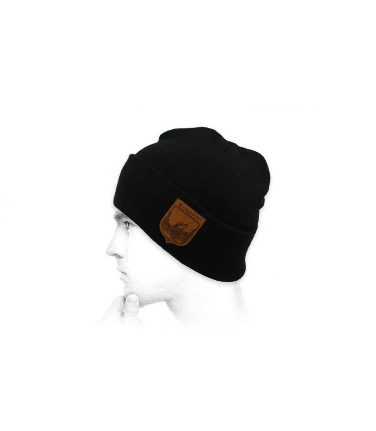 black Loyalty beanie