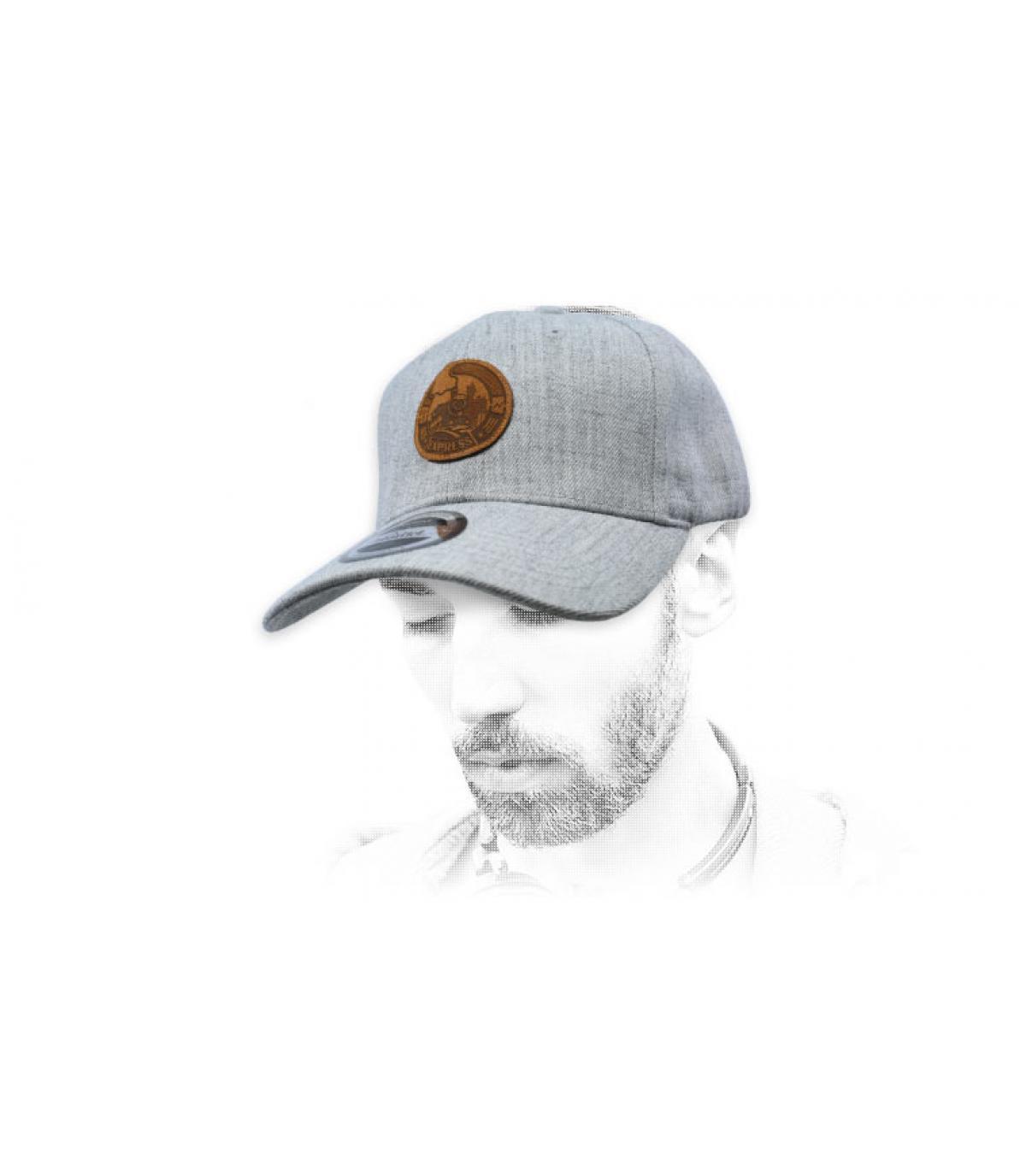 grey Express cap