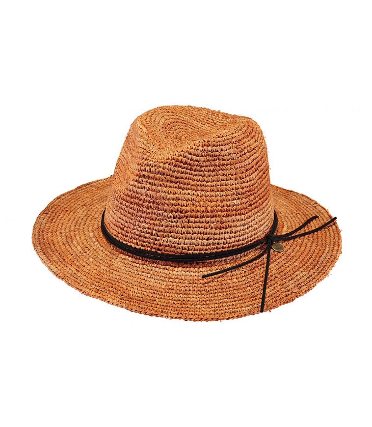 straw hat brown