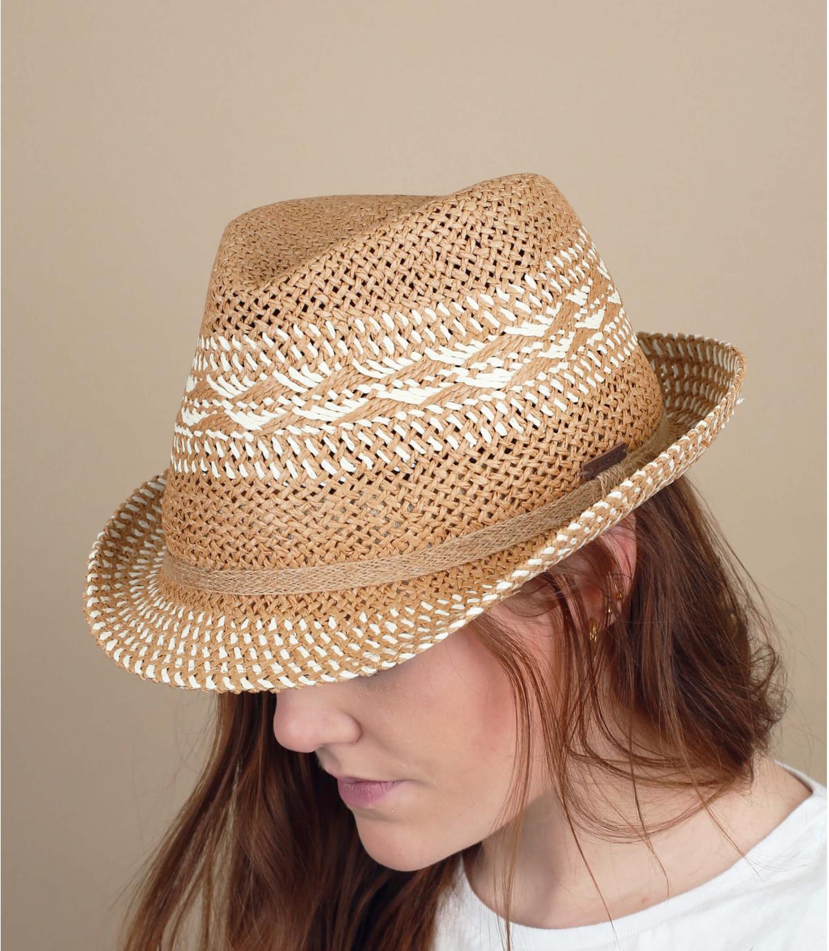 straw trilby pattern