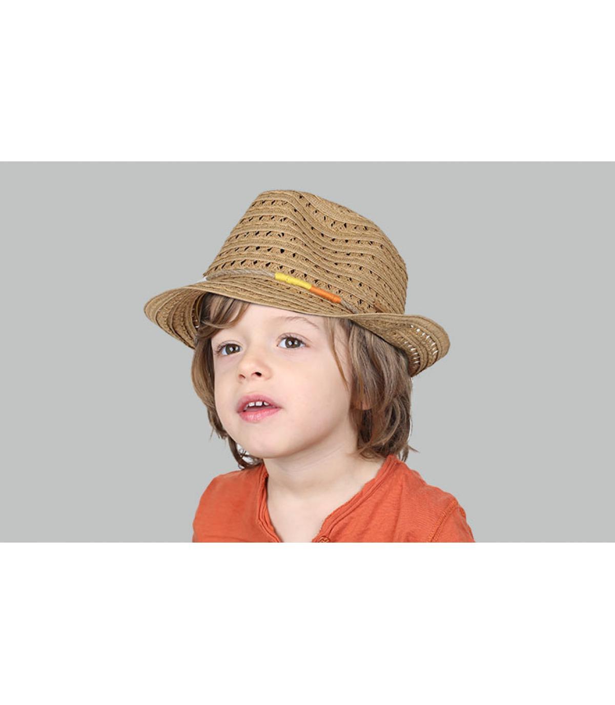 straw child hat