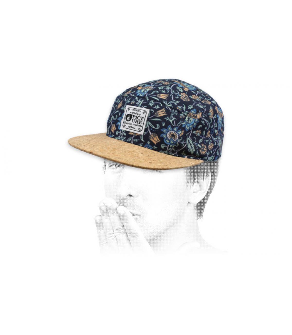 blue 5 panel cap Picture