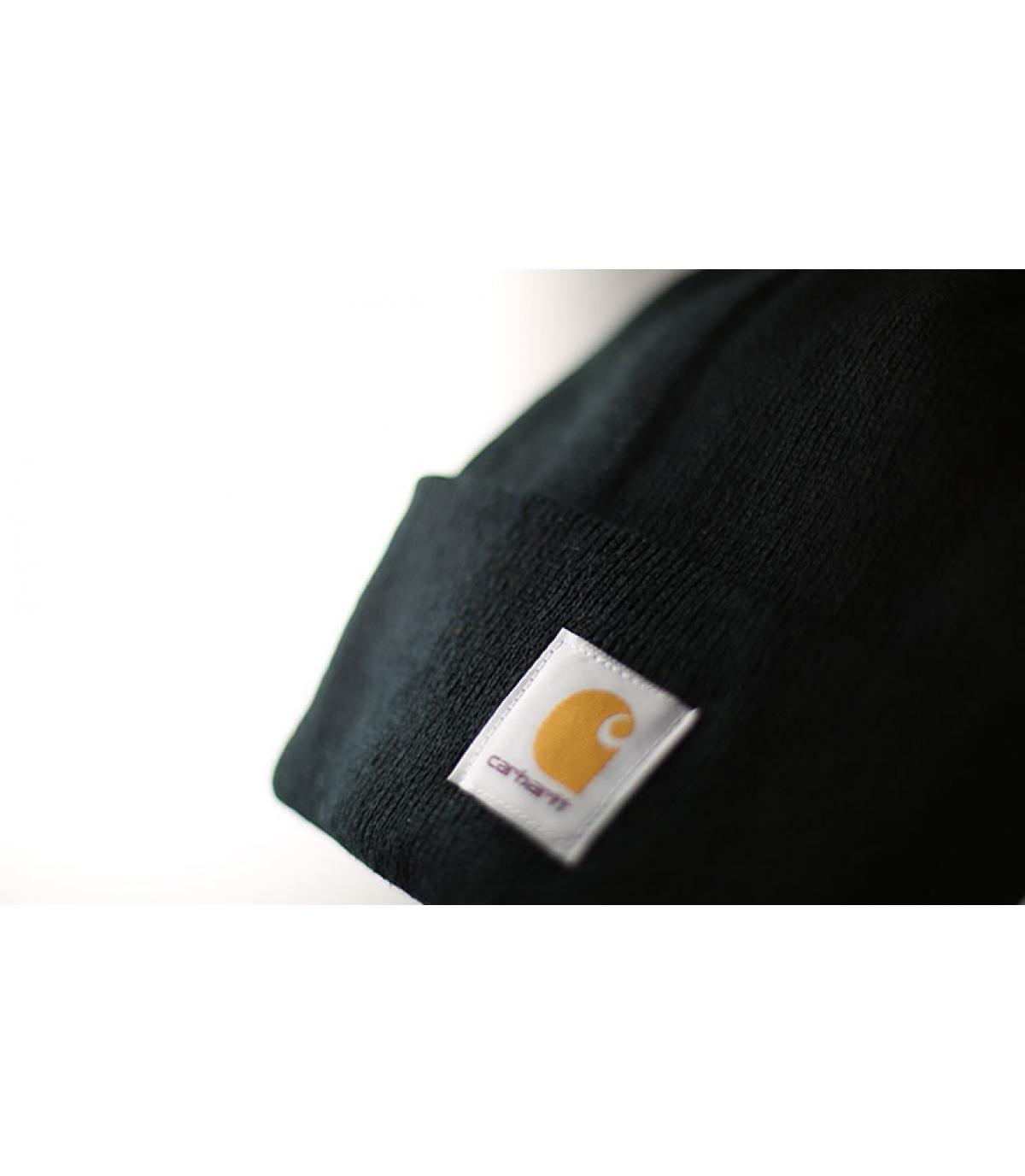 Carhartt black beanie - Black cuff beanie by Carhartt. 6580198c2f3