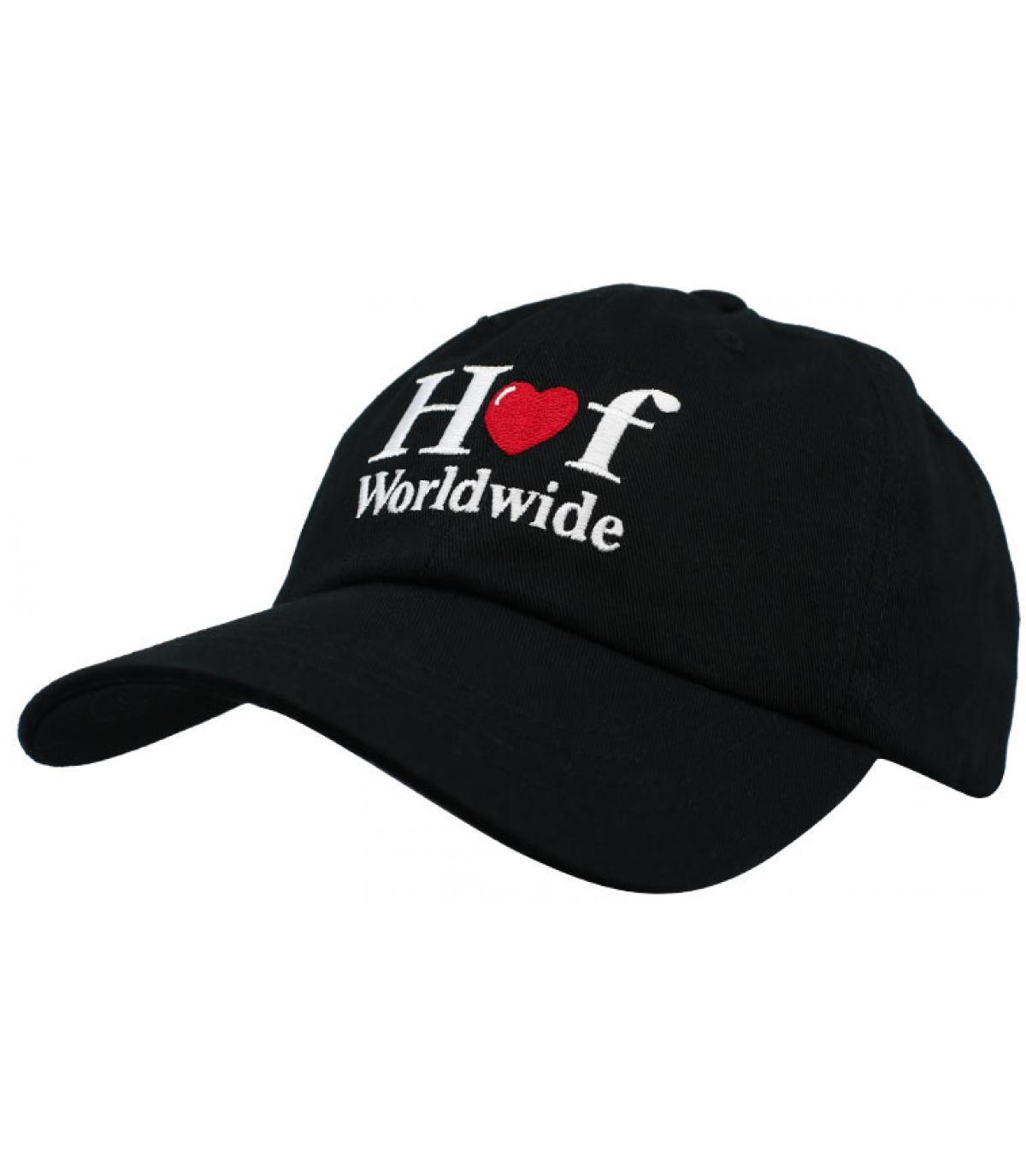 Huf black cap heart