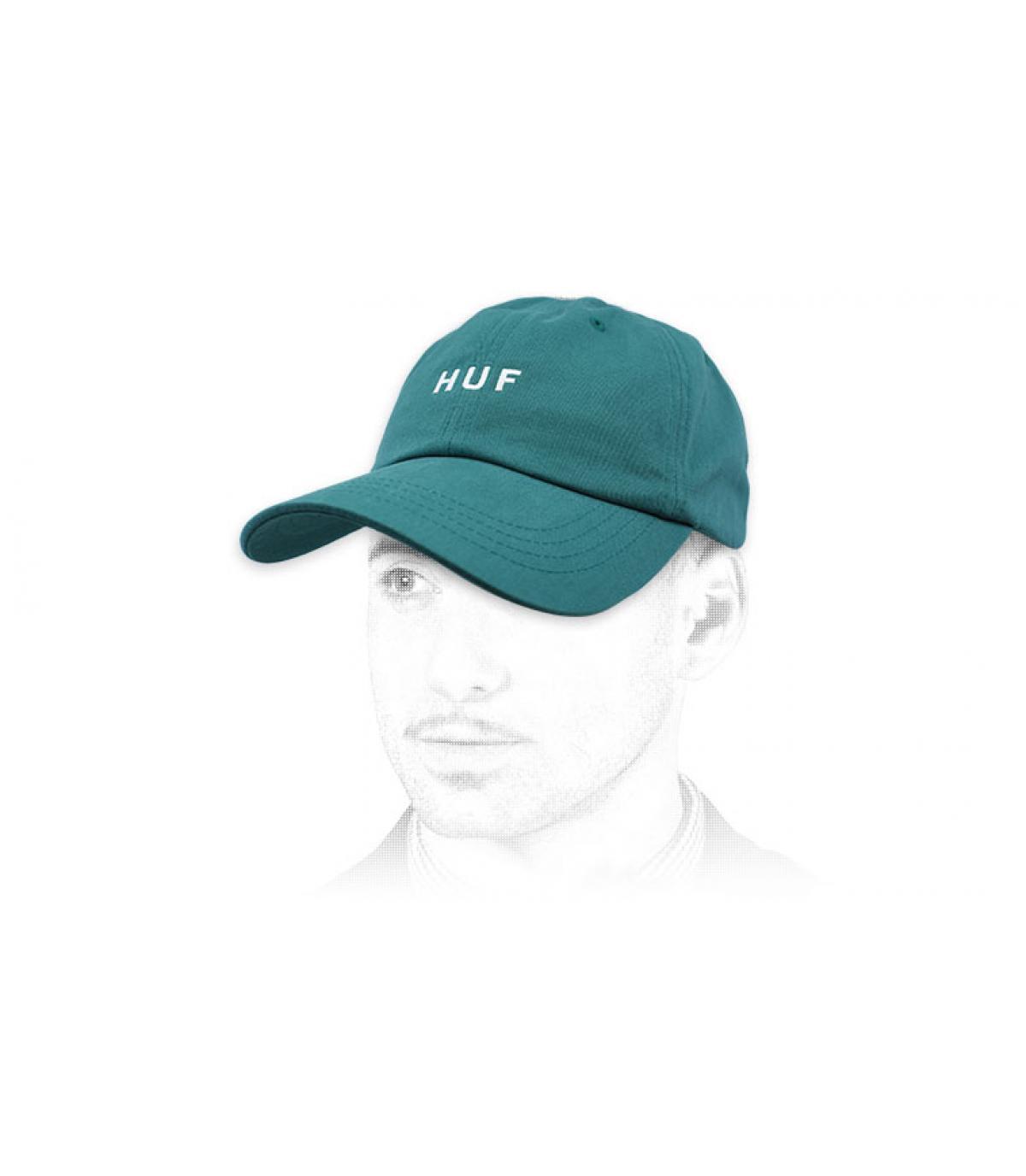 Huf blue cap