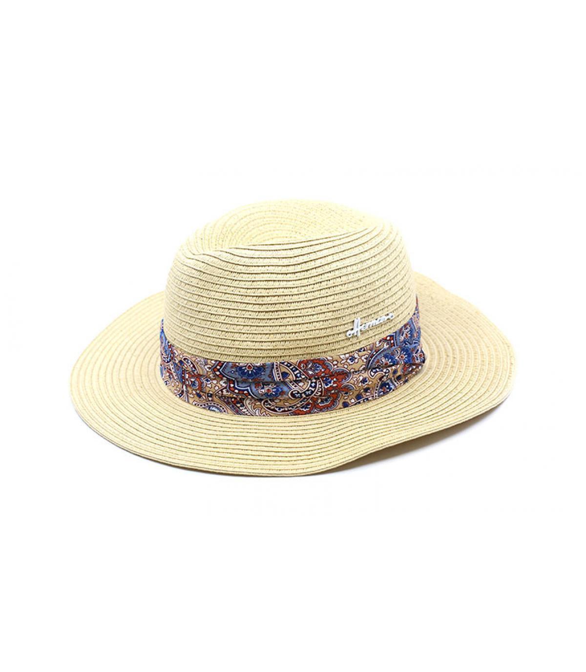 straw hat white