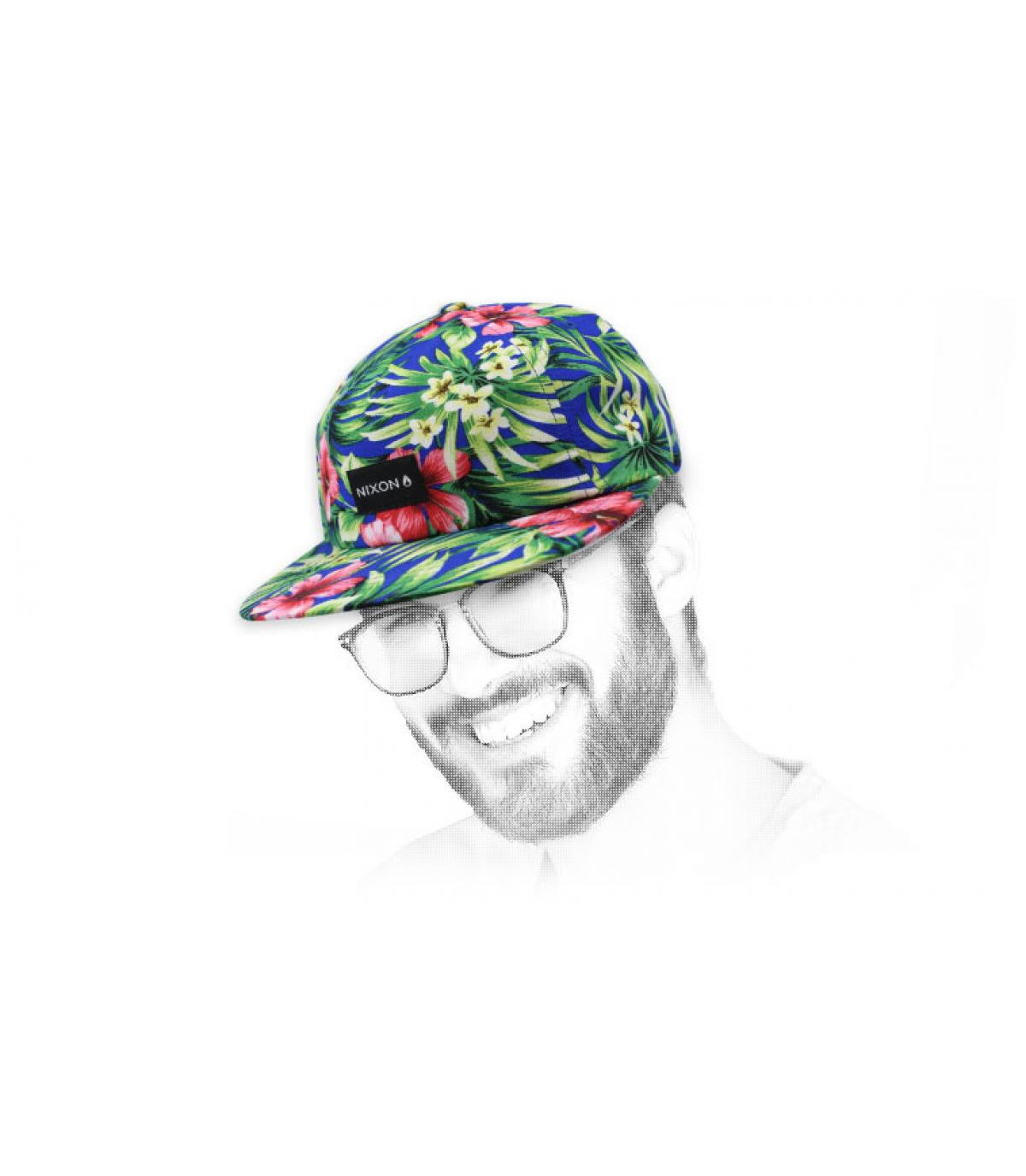 Nixon flower cap