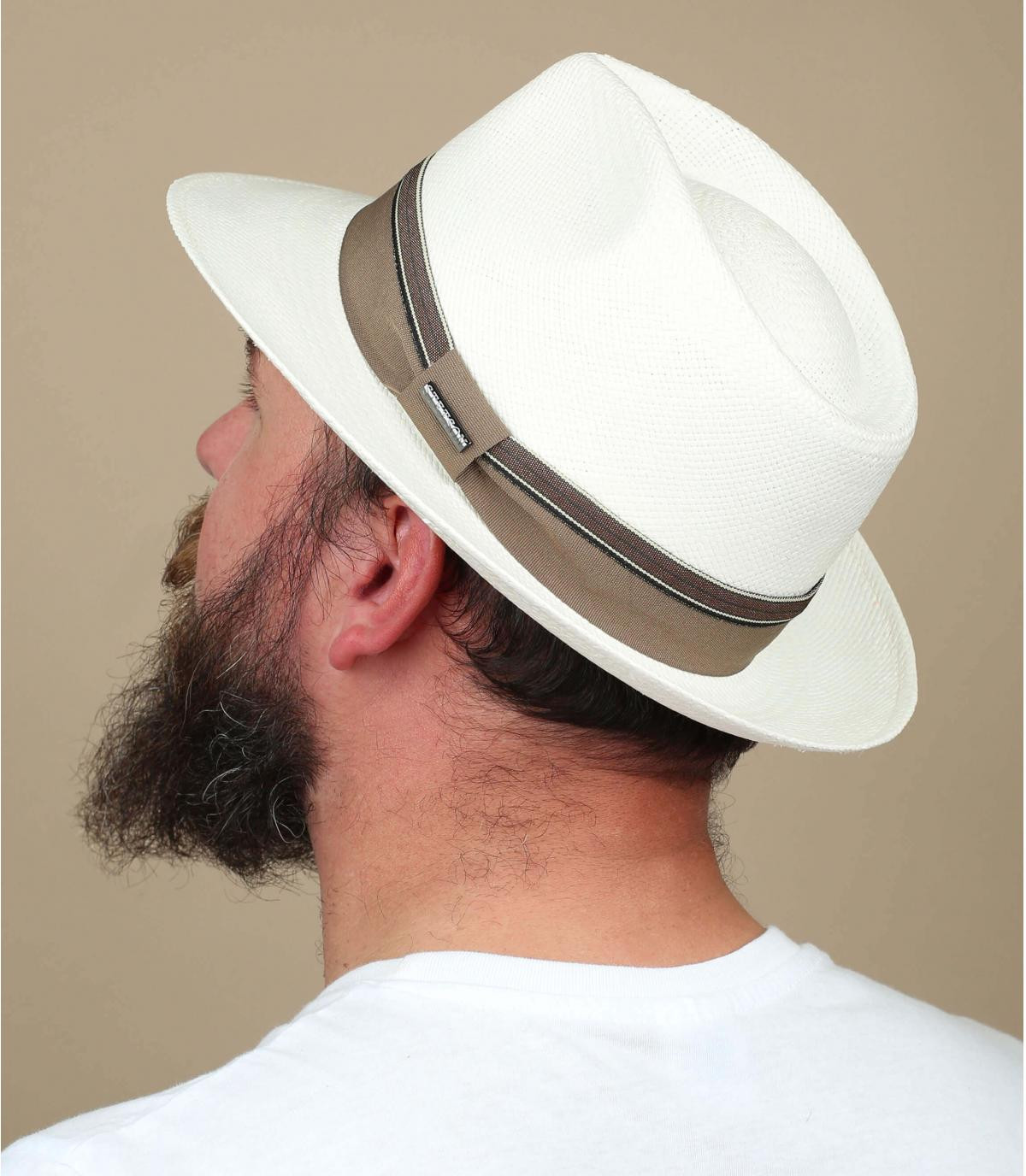 Panama hat white