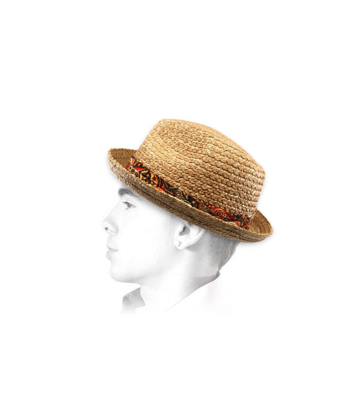 Stetson straw hat ribbon