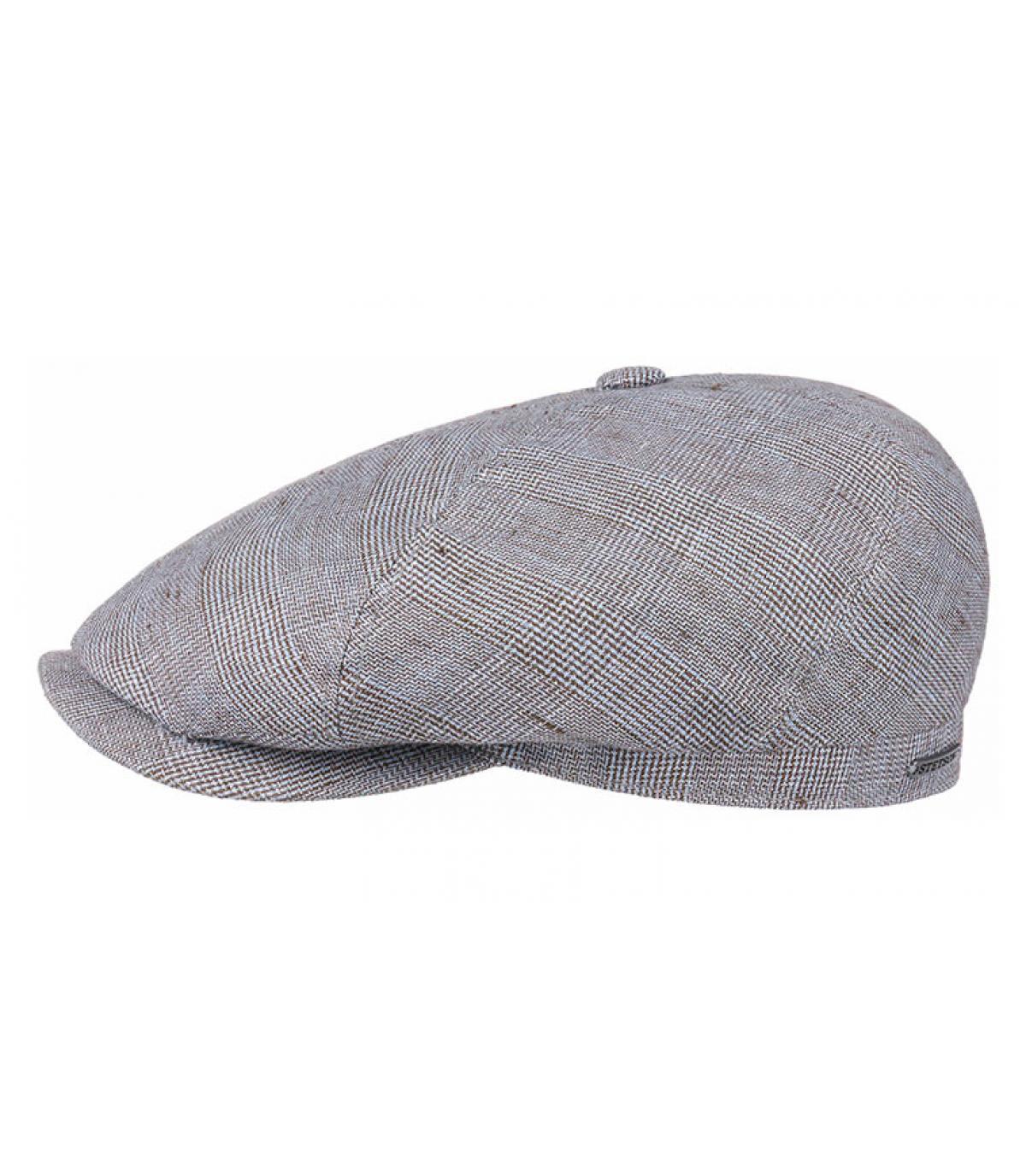 blue beret linen squares