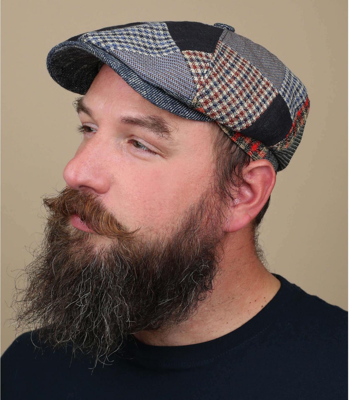 patchwork Stetson cap