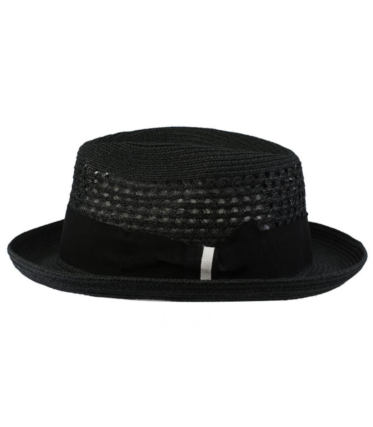 6910cb3b5212c ... black straw hat Bailey - Wilshire solid black Bailey - image 2 ...