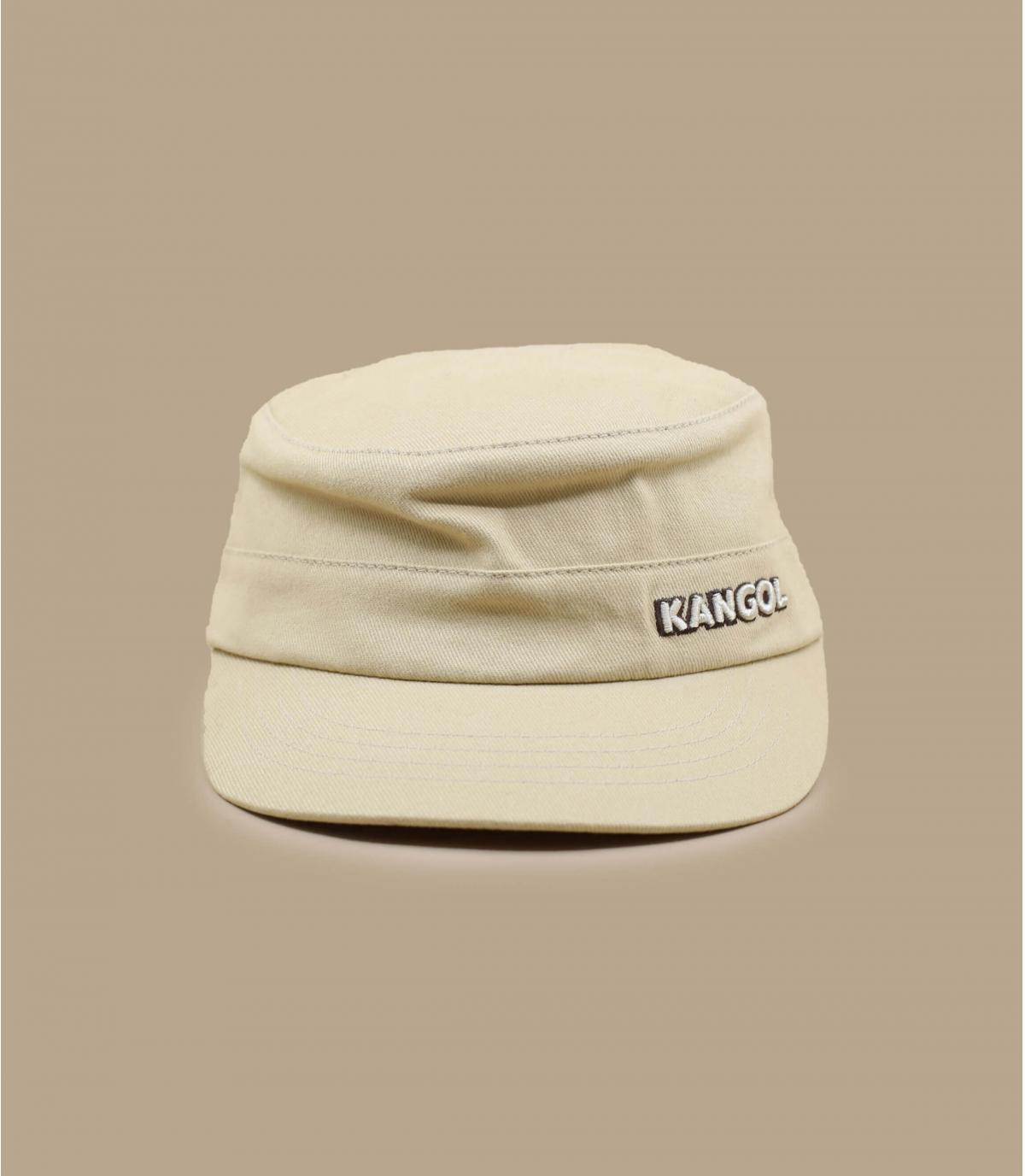 Détails Cotton Twilll Army Cap beige - image 2
