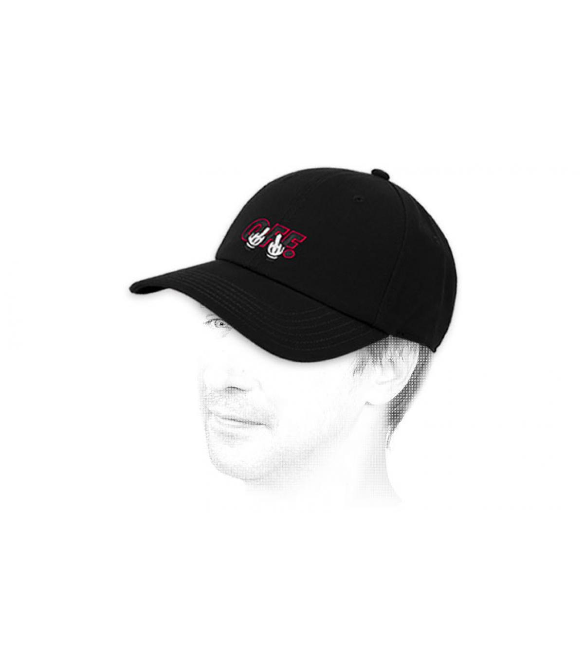 black F… OFF cap