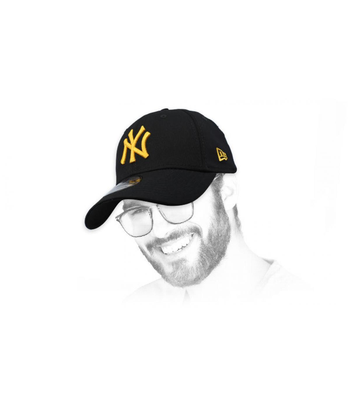 black gold NY cap