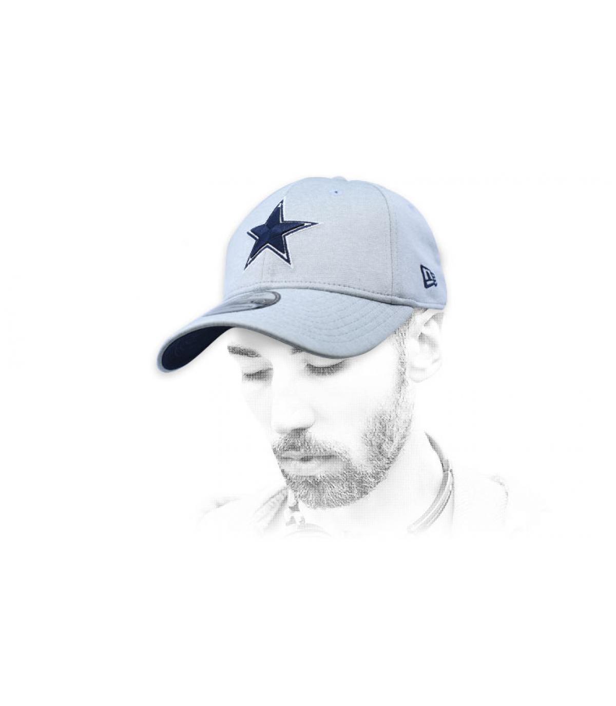 grey Dallas cap