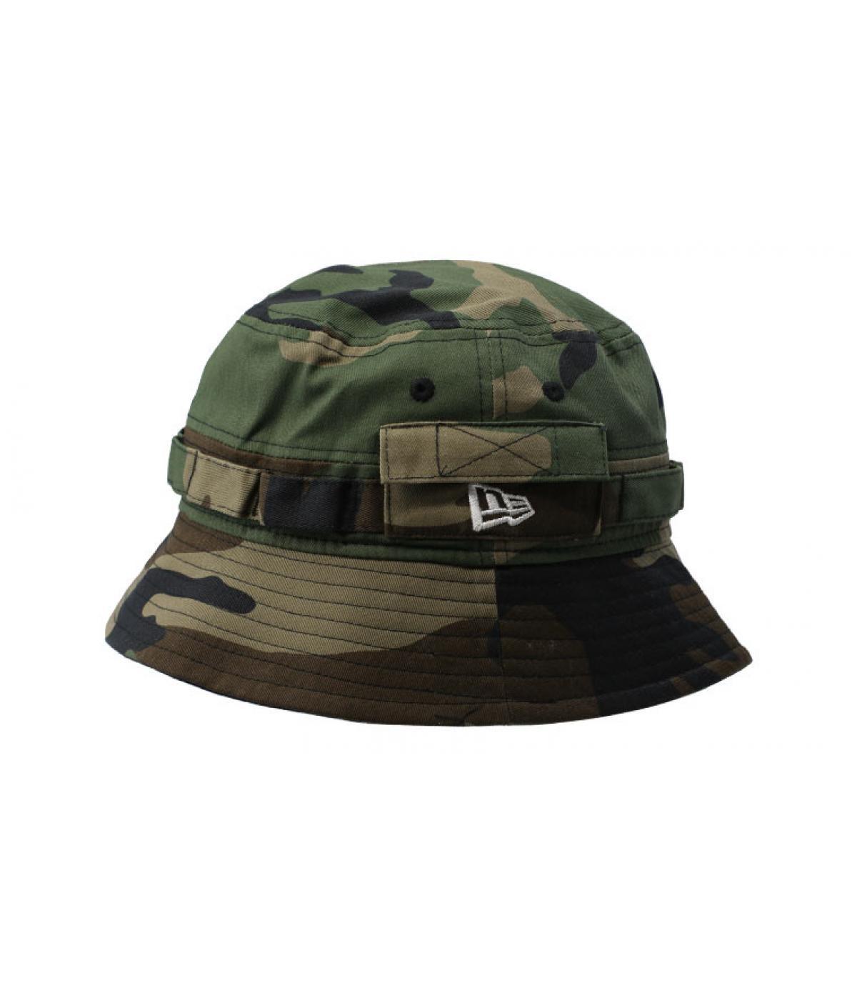 fdbccabb New Era bucket hat camo - Bucket Explorer NE woodland camo by New ...
