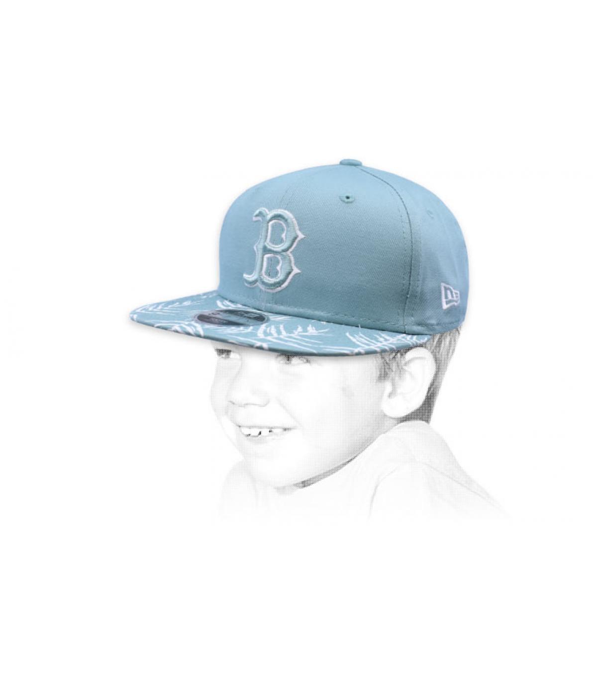 snapback kid blue B