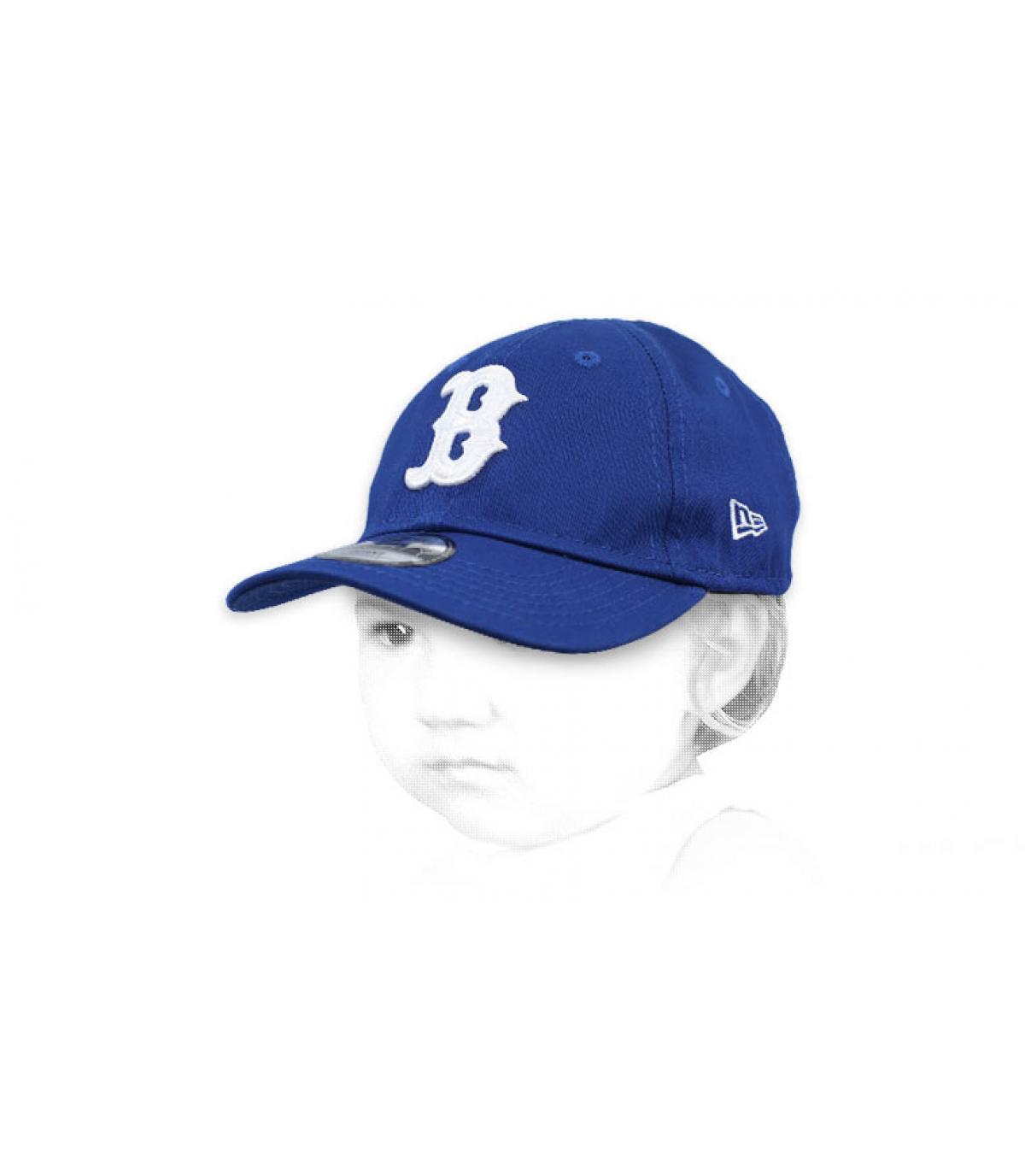 B blue baby cap