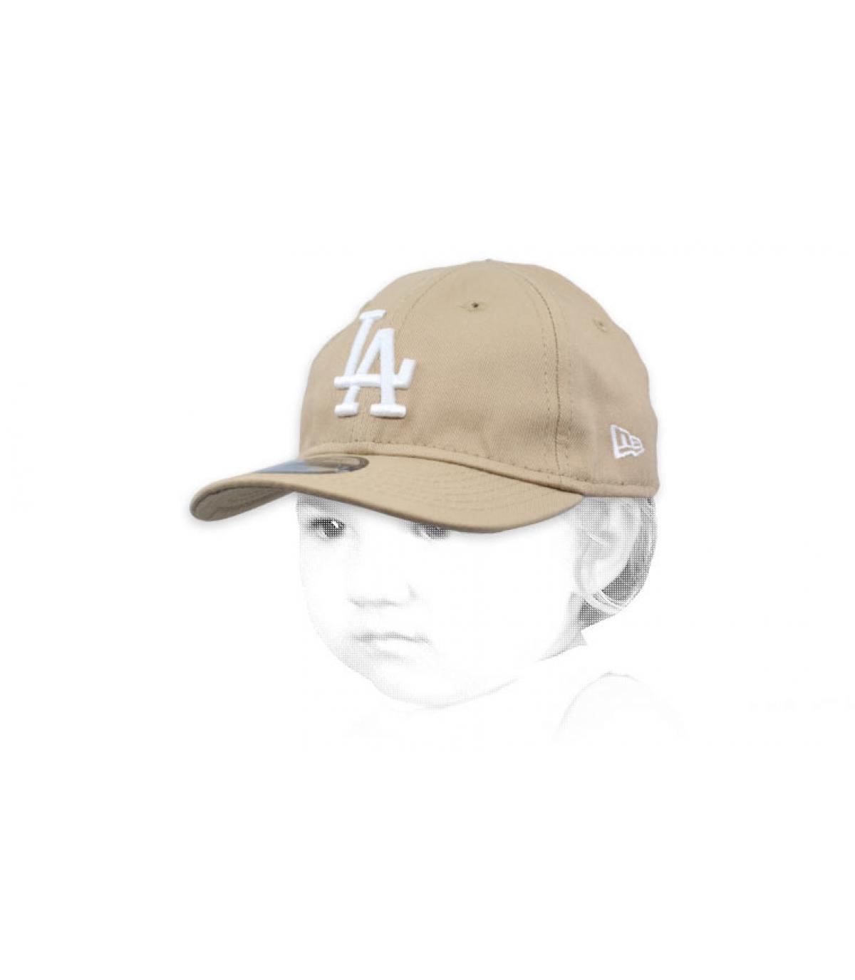 LA baby cap beige