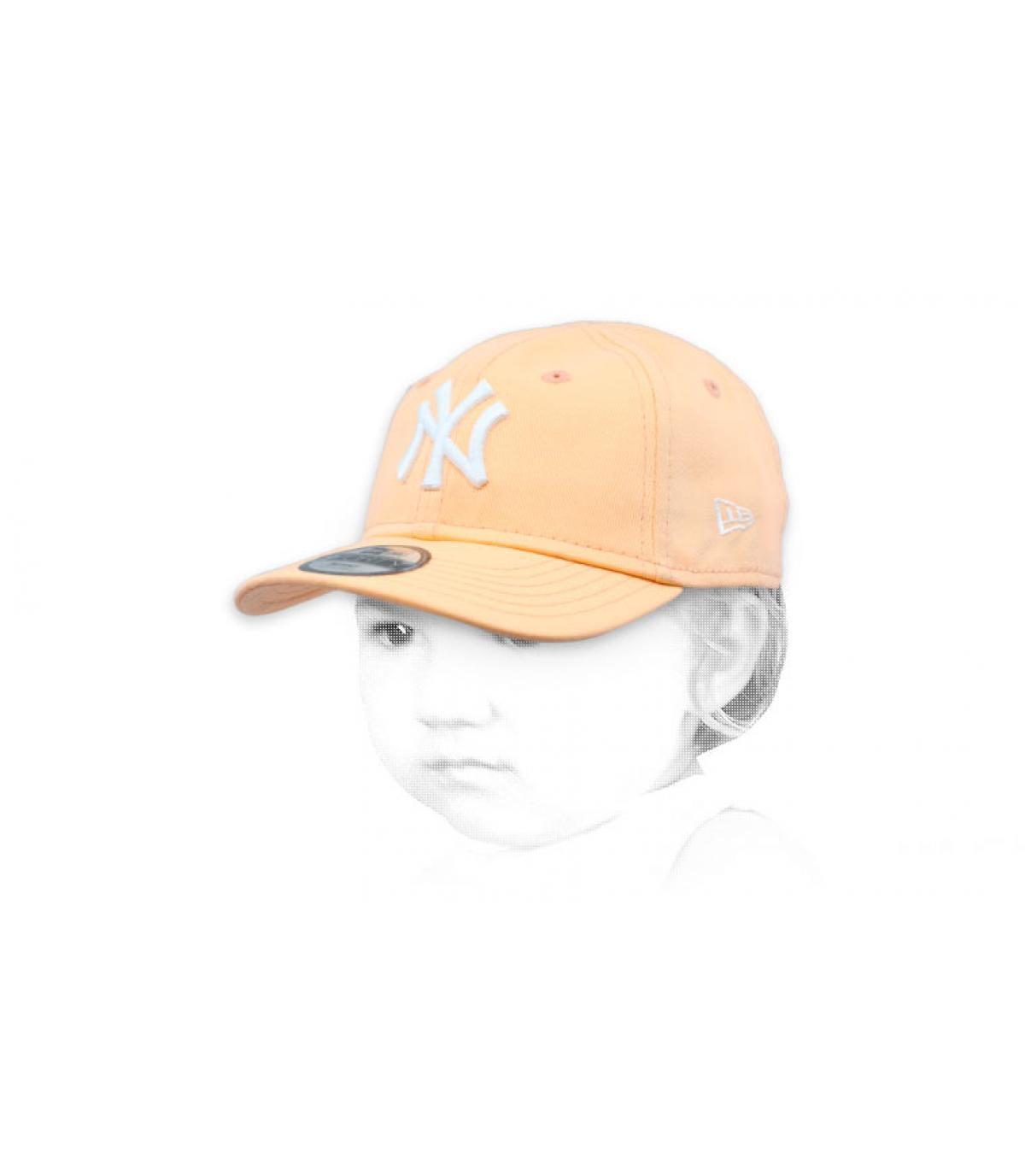 pink baby cap NY