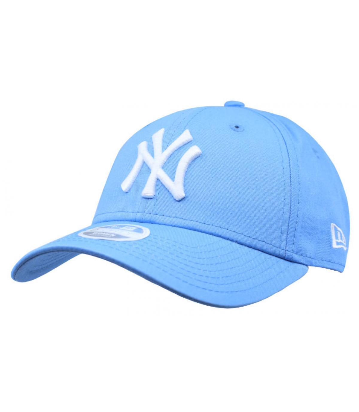 blue women ny cap wmns league ess ny sky by new era. headict