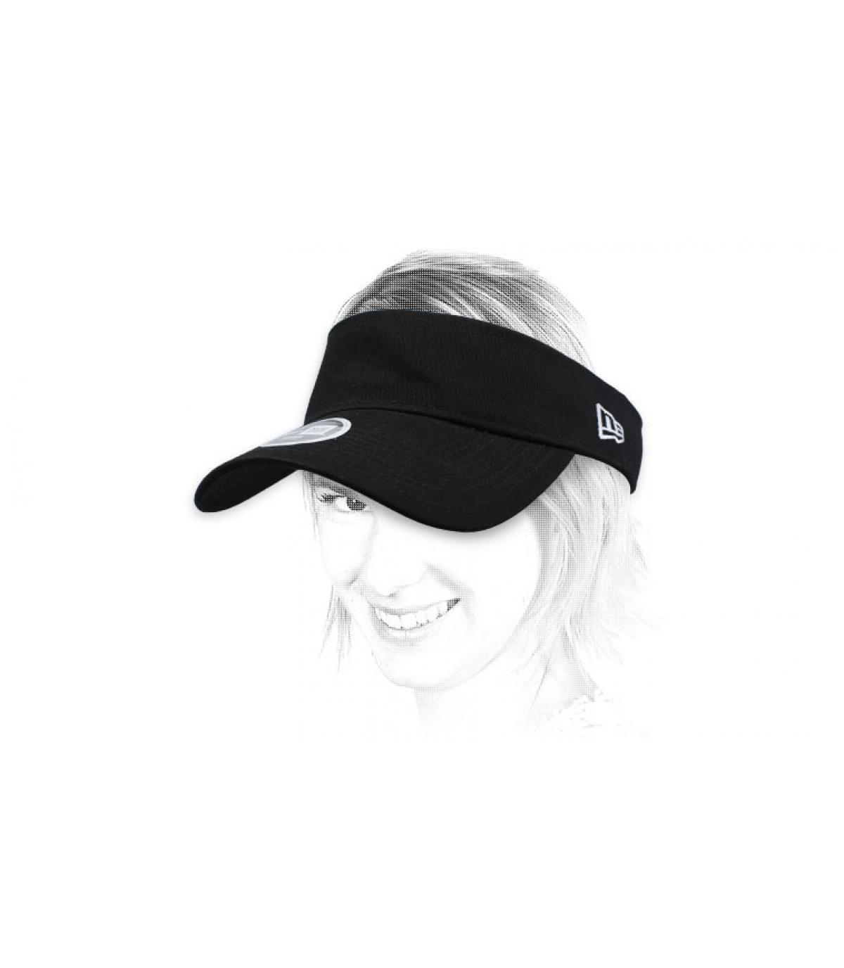black visor women