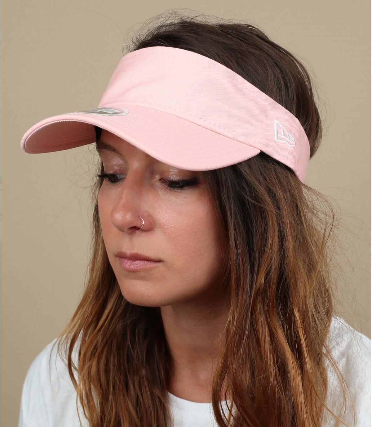 pink visor women