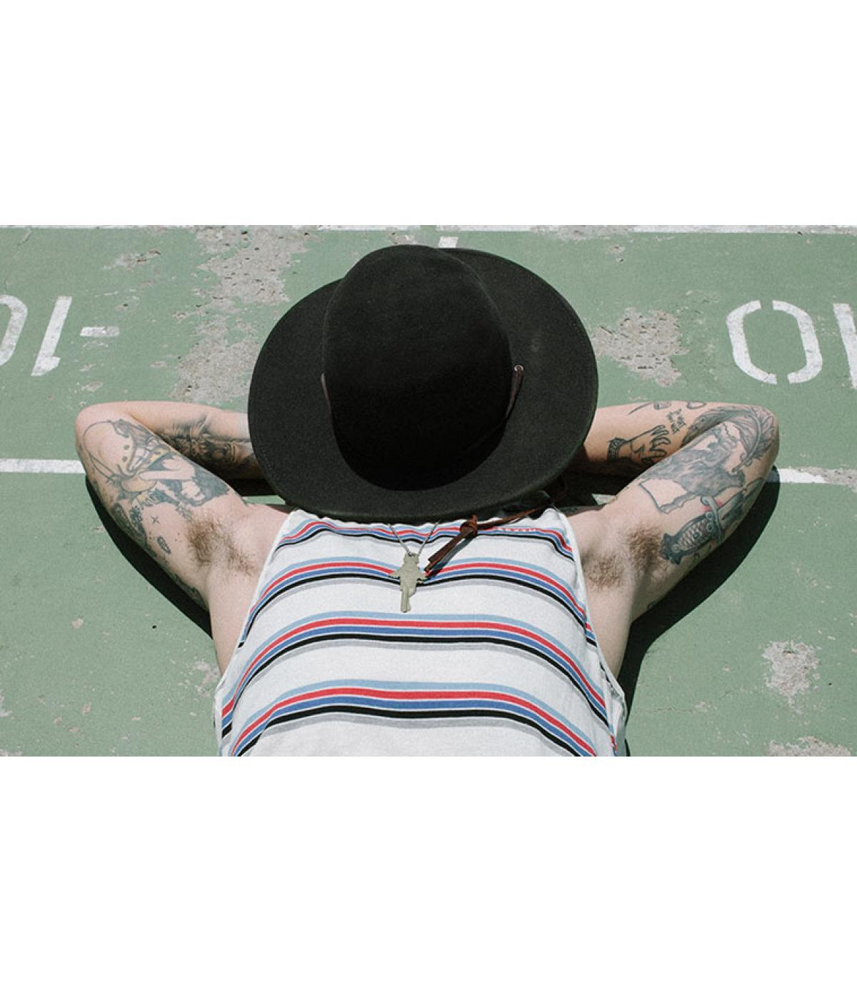 Détails Tiller black hat - image 5