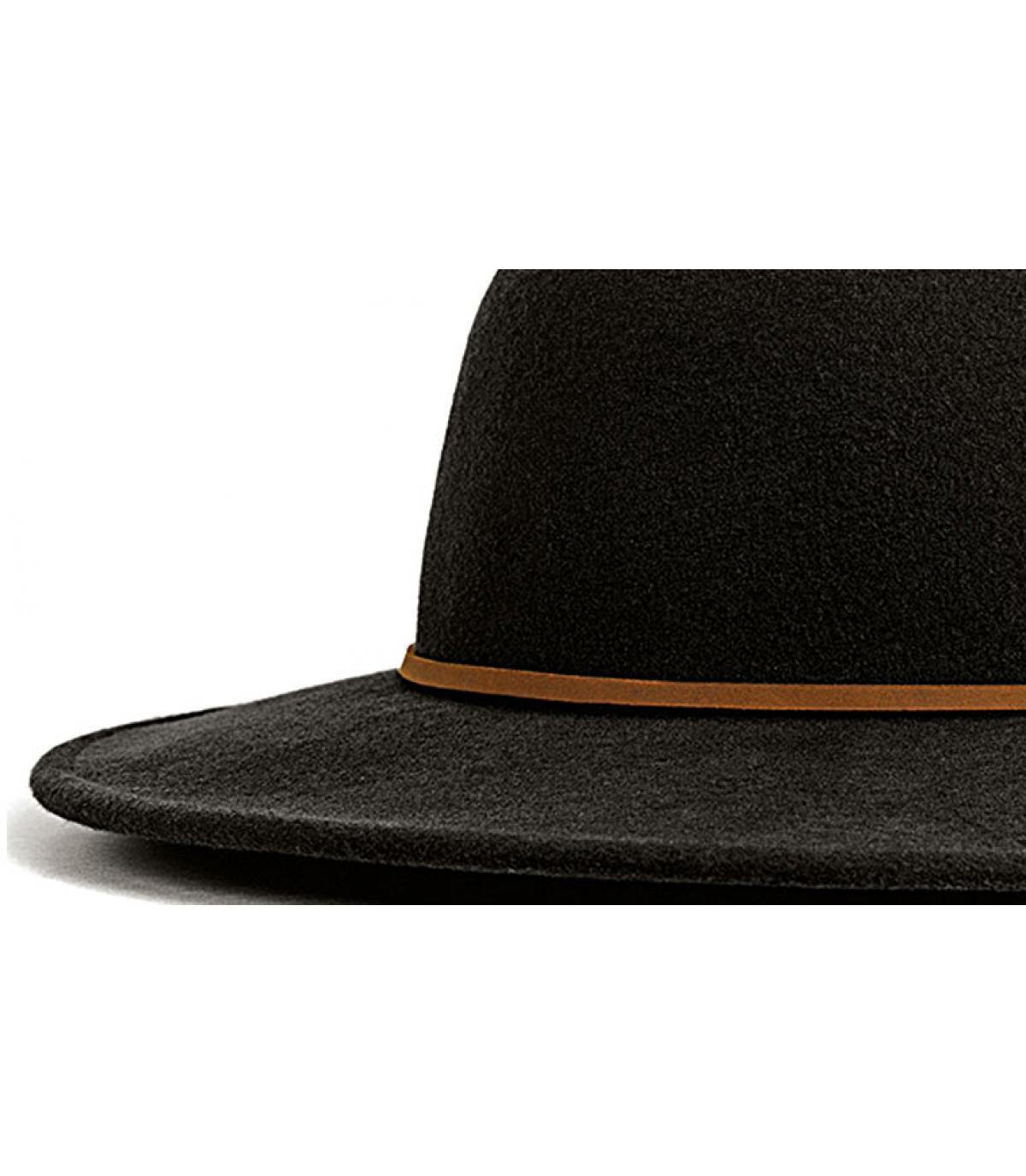 Détails Tiller black women hat - image 2
