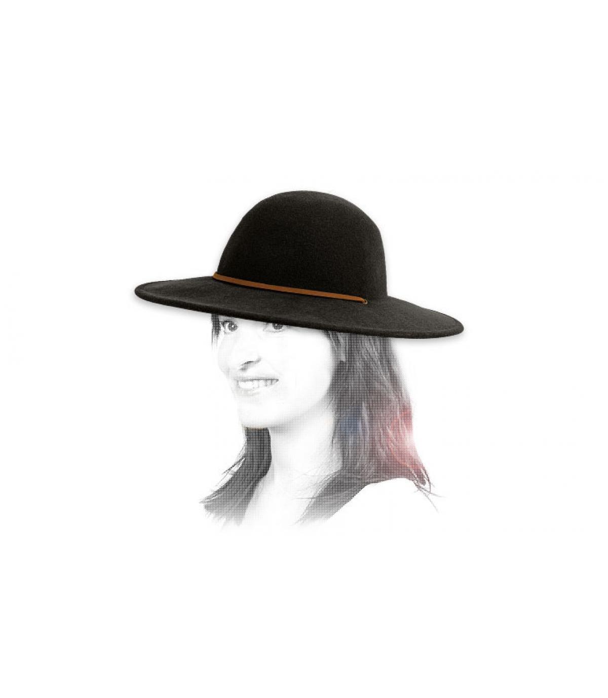 Détails Tiller black women hat - image 3