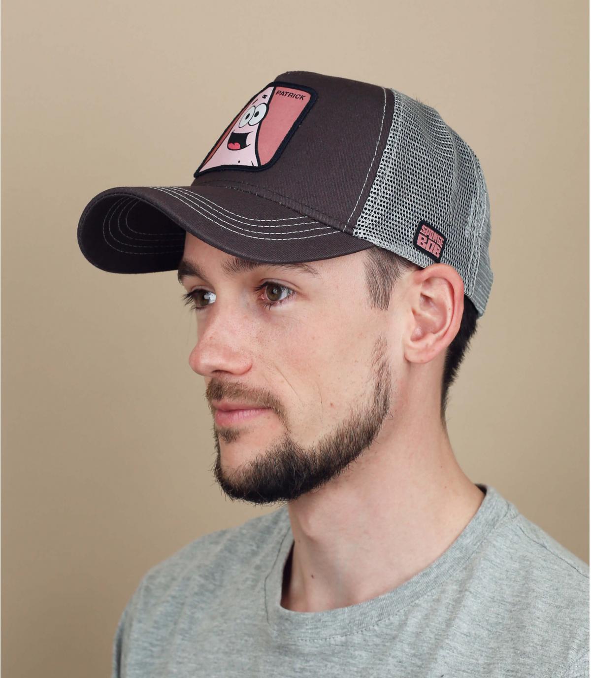 trucker Patrick grey pink