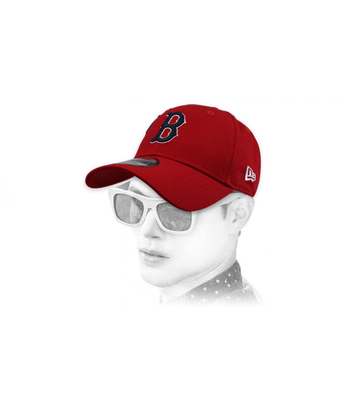 red B cap