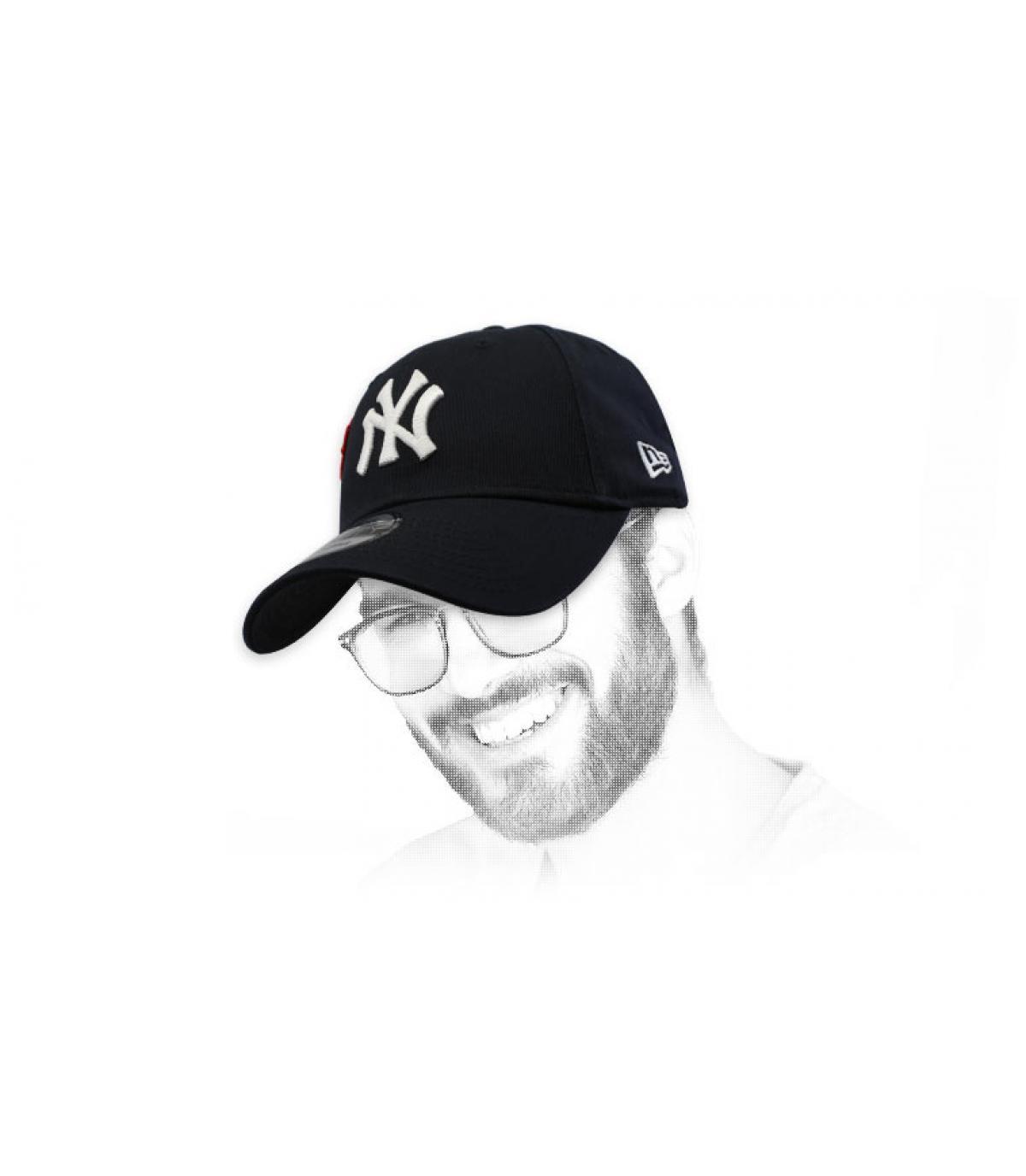 b5914a938 black NY cap