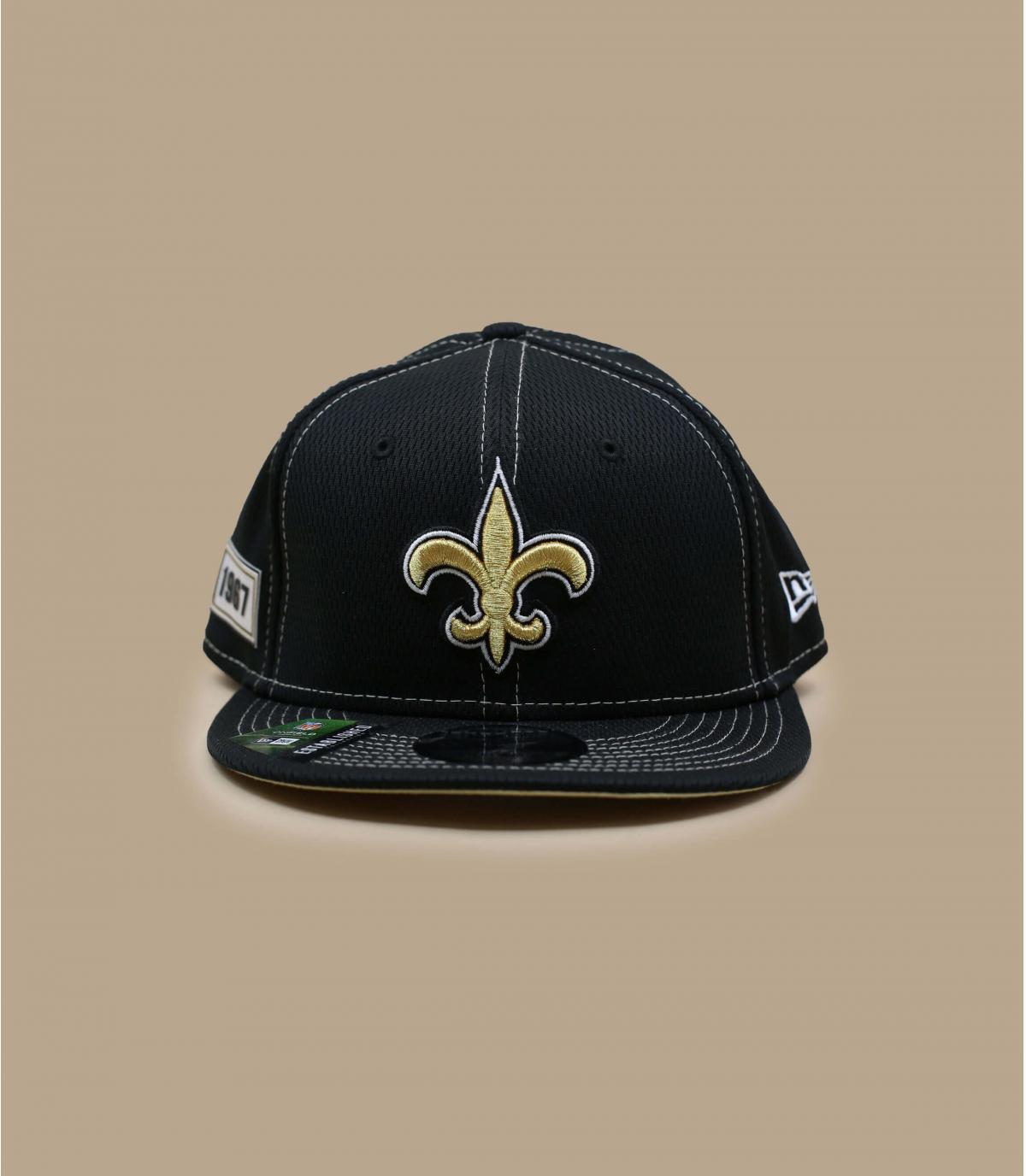 black Saints cap