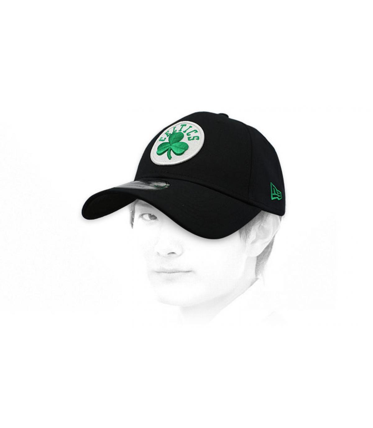 black Celtics cap