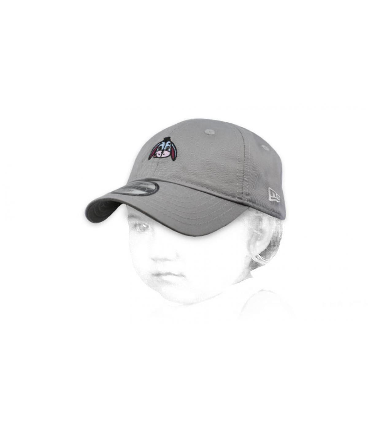 baby cap Eeyore grey