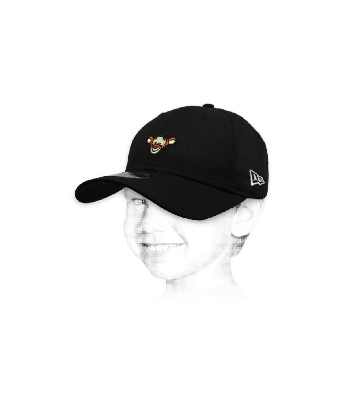 black Tigger kids cap