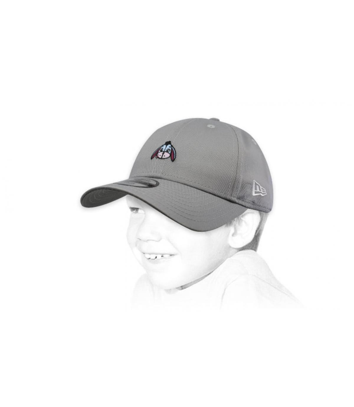 grey child Eeyore cap